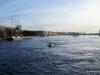 Neva river near the Palace Bridge