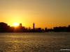 Strelka of Vasilyevsky Island at sunset
