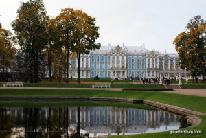 Catherine's Palace and garden