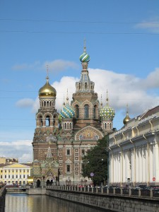 St. Petersburg Church of Our Savior on the Spilled Blood